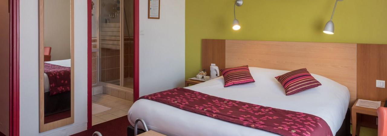 Hôtel 3 étoiles Champagne Ardenne - Chambres