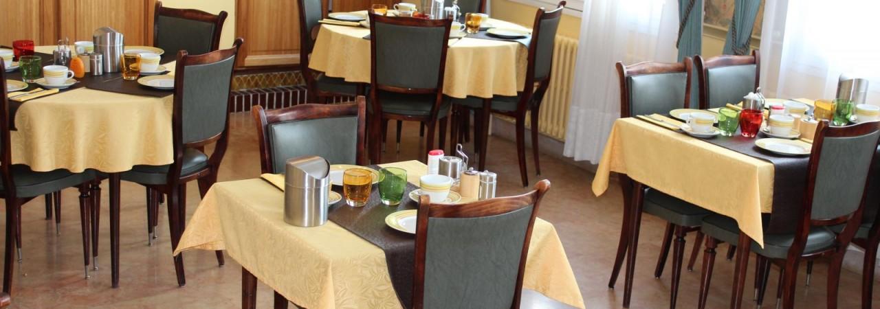 Hôtel affaires Chalons en Champagne - restaurant