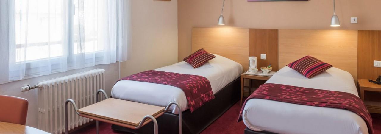 Hôtel 3 étoiles Chalons en Champagne - Chambres