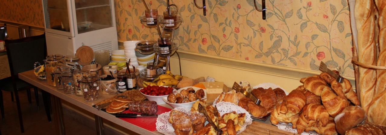 Hôtel 3 étoiles Chalons en Champagne - petit-déjeuner