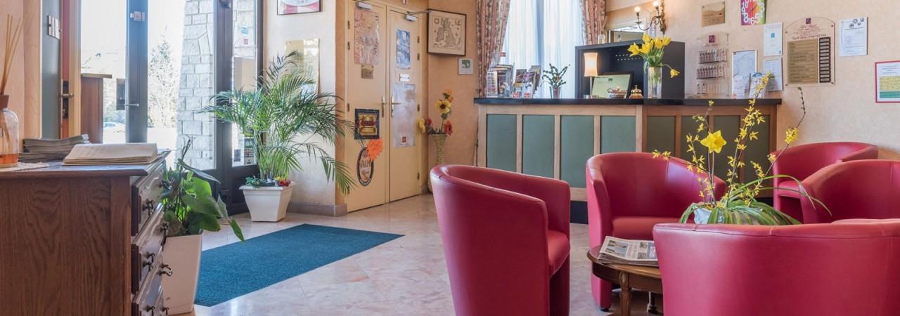 Hôtel 3 étoiles Route du Champagne - réception